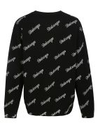 Balenciaga Signature Logo Sweater - Nero