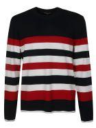 Michael Kors Stripe Sweatshirt - Blue