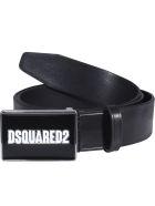 Dsquared2 Dsquared2 Plaque Belt - Black