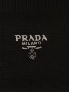 Prada Logo Socks - Black
