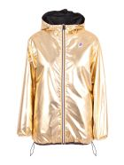 Fendi X K-way Polyester Jacket - Gold