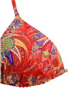 Etro Ibiza Red Bikini With Paisely Print - Red