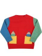 Stella McCartney Kids Multicolor Sweater For Kids With Pencils - Multicolor