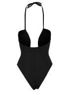 Fendi One Piece Swimsuit - BLACK