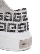 Givenchy 4g Jacquard City Sneakers - White/black
