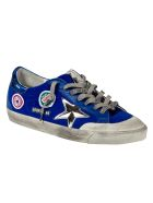 Golden Goose Super-star Penstar Classic Sneakers - Navy/Multicolor