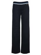 Miu Miu Lux Fleece Pants - BLUE