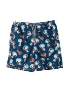 MC2 Saint Barth Print Swim Shorts - Unica