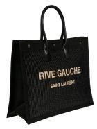 Saint Laurent Rive Gauche Tote - Black
