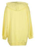 MSGM Logo Hoodie - Light Yellow