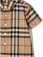 Burberry Beige Cotton Jumpsuit - Check