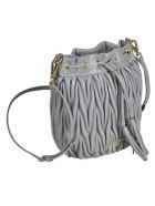 Miu Miu Matelassé Bucket Bag - Nube