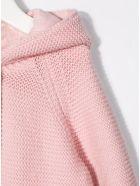 Stella McCartney Kids Pink Knit Cardigan With Ears Detail - Pink
