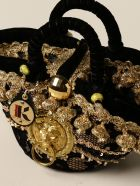 Sikuly Handbag Lace Bag P. Sikuly With Lurex Embroidery - Multicolor