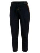 Brunello Cucinelli Side Stripe Track Pants - Blue