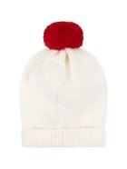 Little Bear Ivory Hat For Babykids - Ivory