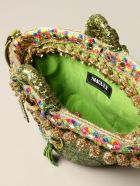 Sikuly Handbag Brillanti Sikuly Coffa Bag With Micro Sequins And Embroidery - Multicolor