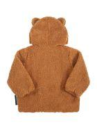 Moschino Camel Sweatshirt For Baby Kids - Brown