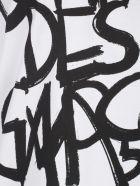 Junya Watanabe Printed S/s T-shirt - White