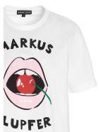 Markus Lupfer 'alex Cherry Bite' T-shirt - White
