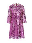 Dolce & Gabbana 'dg Pop' Dress - Fuchsia