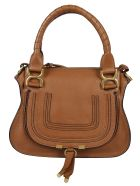 Chloé Marcie Small Double Carry Tote - Tam