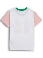 Stella McCartney Kids Poodle Printed Cotton T-shirt - White