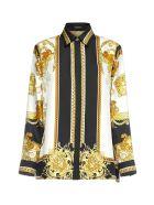 Versace Shirt - Nero oro bianco