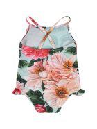 Dolce & Gabbana Multicolor Swimsuit For Babygirl - Multicolor