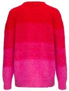 Mauro Grifoni Degradé Bicolor Mohair Sweater - Pink
