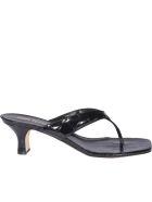 Paris Texas Portofino Sandals - Black
