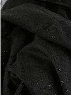Brunello Cucinelli Fringed Edge Sequined Scarf - Nero