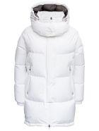 Herno White Laminar Quilted Nylon Down Jacket - White