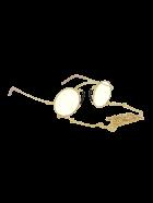 Gucci GG0991S Sunglasses - Gold Gold Yellow
