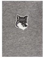 Maison Kitsuné 'grey Fox' Hoodie - Grey