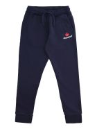 Dsquared2 Drawstring Waist Track Pants - blue