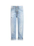 Dondup Light Blue ''surie'' Jeans For Girl - Blu Denim