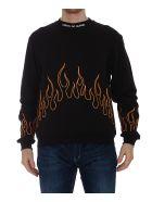 Vision of Super Flame Sweatshirt - Nera
