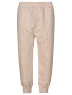Prada Ribbed Waist Track Pants - Naturale