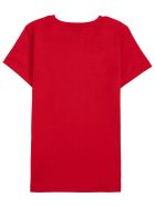 Givenchy Red Cotton T-shirt With Logo Print - Red