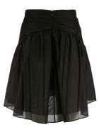 N.21 Back Zip Skirt - Black