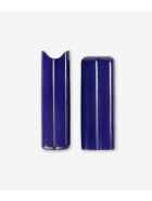 "Larusmiani Two Cigar Holder ""reyes Del Morro"" - royal blue"