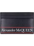 Alexander McQueen Leather Card Holder - Nero
