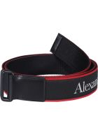 Alexander McQueen Camera Belt - Black