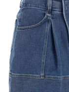 Chloé Denim Skirt - Moonlight blue