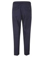 Moncler Drawstring Waist Cropped Trousers - Blue
