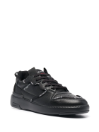 Givenchy Man Black Wing Low Sneakers With Profiles