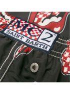 MC2 Saint Barth Rolling Stones® Boy's Light Swim Trunks - Special Edition