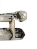 Alexander McQueen Woman Antique Silver Ear Cuff With Skull