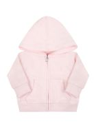 Ralph Lauren Tracksuit For Baby Girl With Pony Logo - Pink